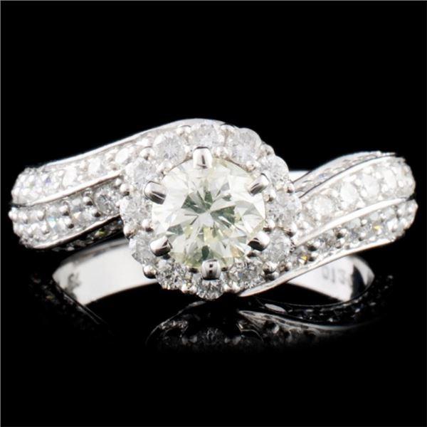 18K Gold 1.93ctw Diamond Ring