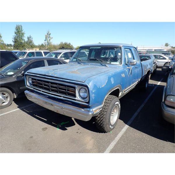 1975 Dodge PowerWagon