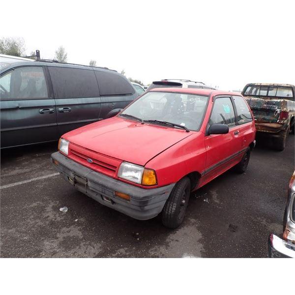 1989 Ford Festiva
