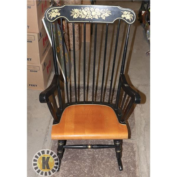 VINTAGE TWO TONE ROCKING CHAIR