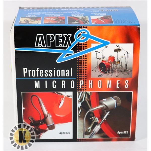 LONG & MCQUADE PROFESSIONAL MICROPHONES 600 OHMS