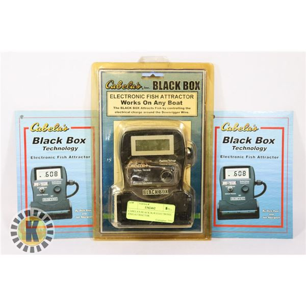 CABELA'S BLACK BOX ELECTRONIC FISH ATTRACTOR