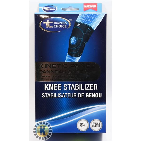 NEW TRAINERS CHOICE KNEE STABILIZER (ONE SIZE)