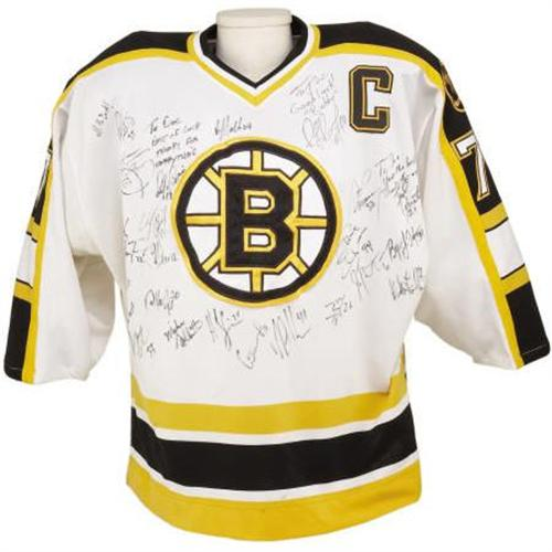 huge selection of e5da2 57cde 1997-98 Ray Bourque Game Worn Jersey Signed