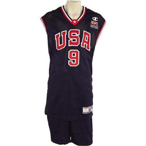new style b2c38 83979 2000 Vince Carter Summer Olympics Game Worn Unif