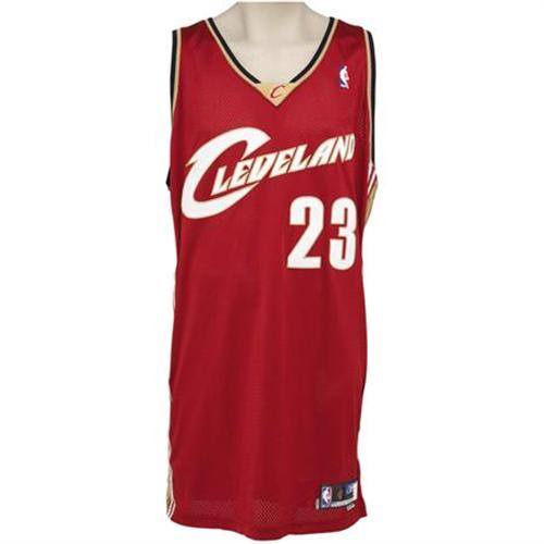 new product 191aa 388ad 2003-04 Lebron James Game Worn Rookie Jersey. A