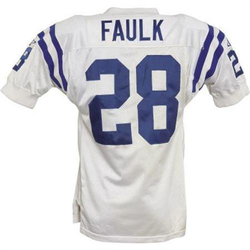 sports shoes c6858 c3a49 1998 Marshall Faulk Game Worn Jersey