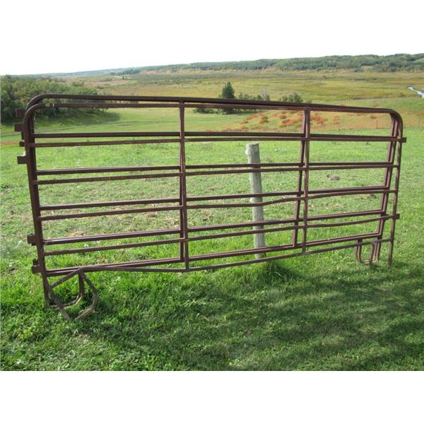 """Corral panel 10 ft long by 5 foot high 1"""" tubing x3"""