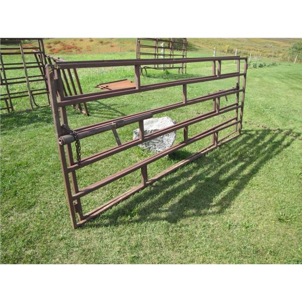 Corral gate 10 ft x 48 in high 1 and 1/4 inch tubing  x2