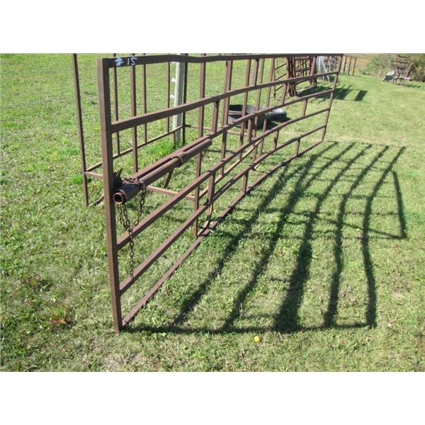 experienced Corral Gate 14 ft