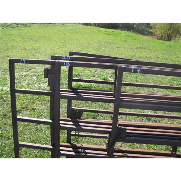 Corral gate 16 ft 1 and 1/4 inch tubing