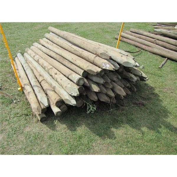 treated fence posts 6 foot 3 to 4 in ... x65