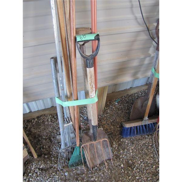 rakes shovel Fork Etc