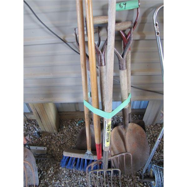 shovel Forks broom etcetera