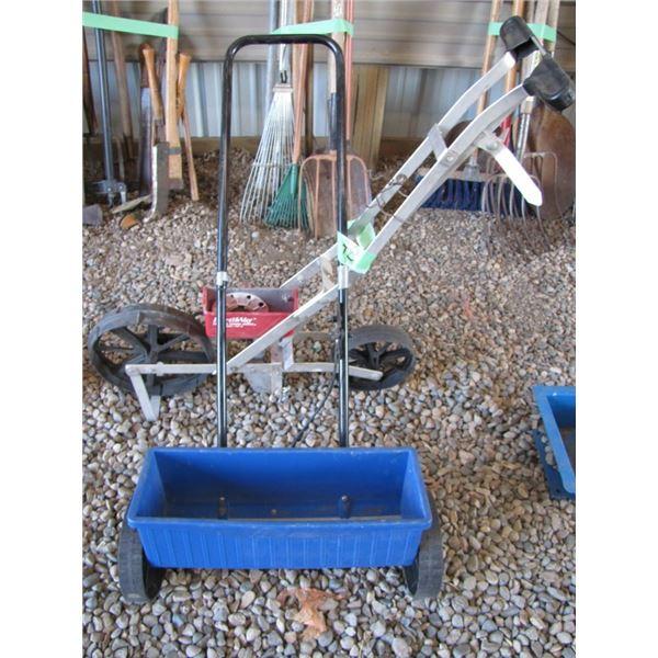 earthway Garden seeder and grass seeder
