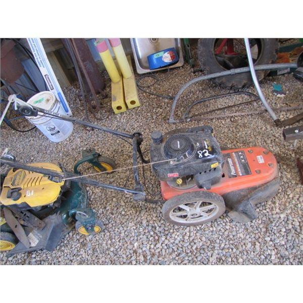 Powermate 6.5 horsepower gas string trimmer