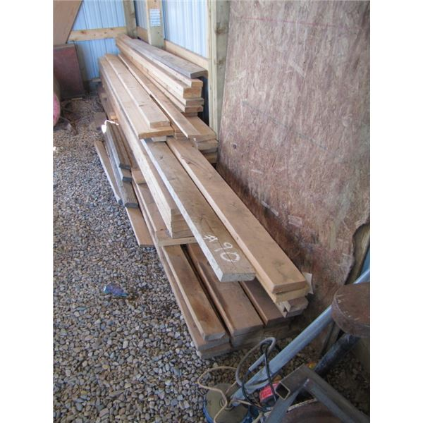 lot of dimensional Lumber includes
