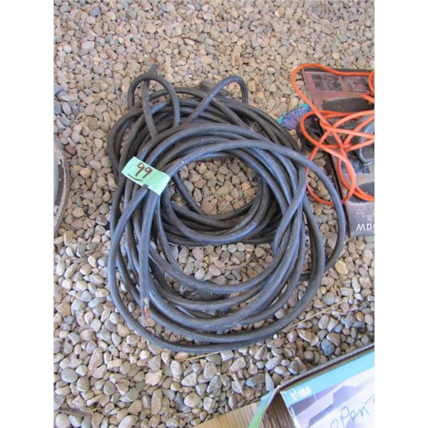 lot of 2 length of welding extension cord