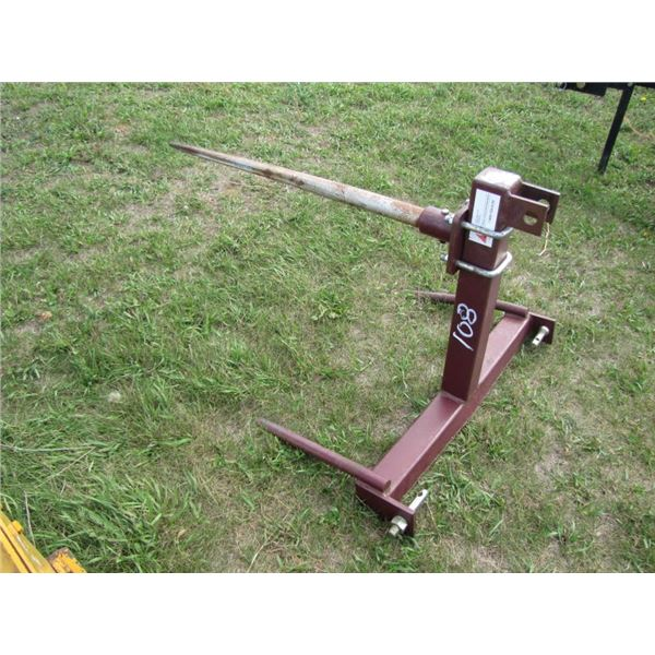 three point hitch Bale prong