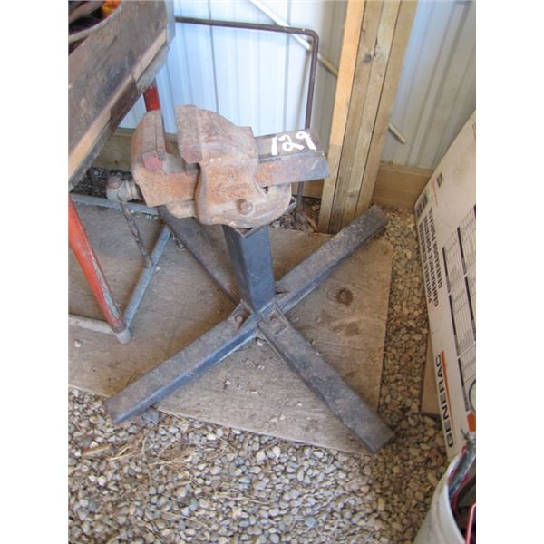 Henry 4 inch Vise on stand