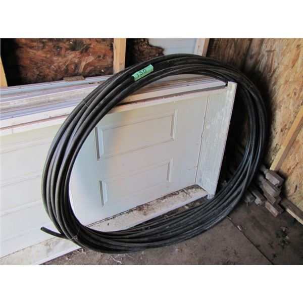 roll of 1/2 inch poly hose