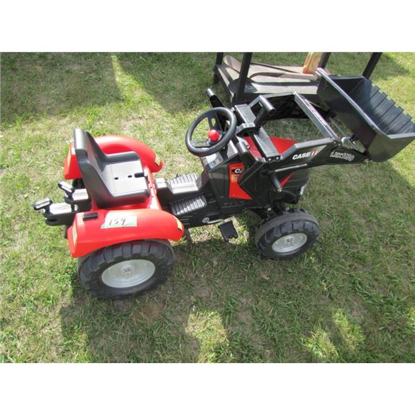 Case IH child's pedal tractor