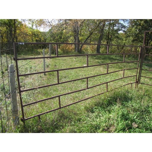 Corral panel 12 foot wide by 5 foot high 1 inch tubing