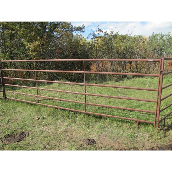 Corral Gate 14 ft long 1 and 1/4 inch tubing