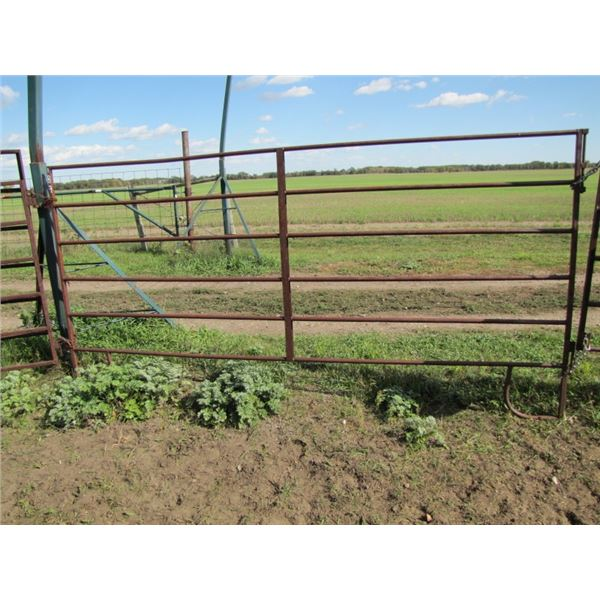 Corral gate 10 ft long 1 inch tubing