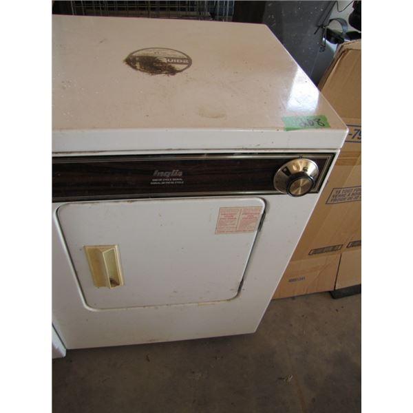 Inglis apartment size dryer