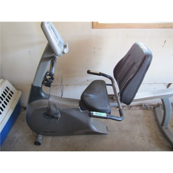 Vision Fitness exercise bike and proactive Deluxe pedal exerciser