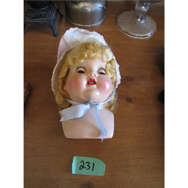 composite doll head