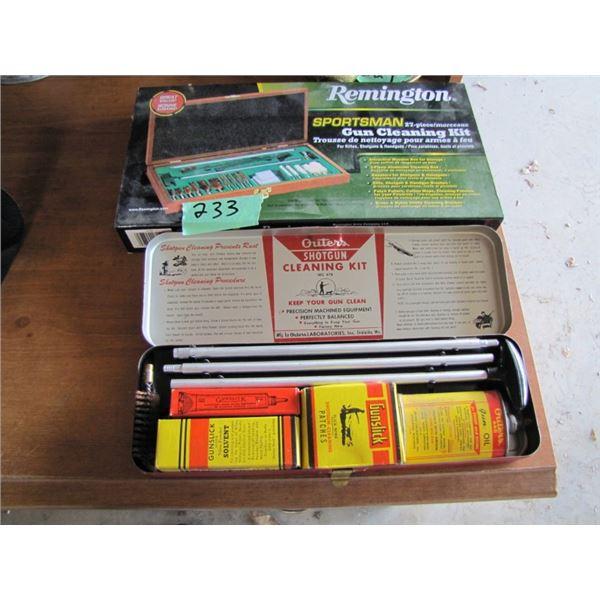 2 gun cleaning kits