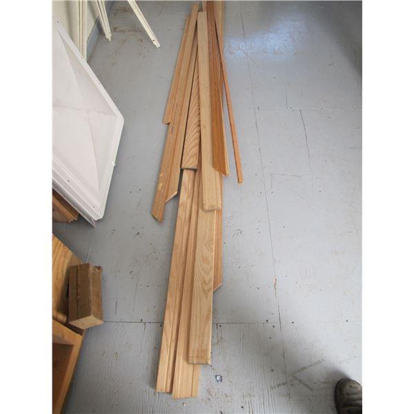 Lot of wood door trim  and window trim