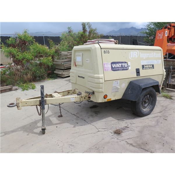 Ingersoll Rand Air Compressor (Starts & Runs, See Video)