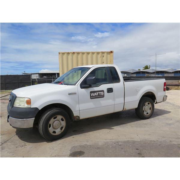 2005 Ford F-150 Pick Up Truck 122203 Miles 105TSE (Starts & Runs See Video)