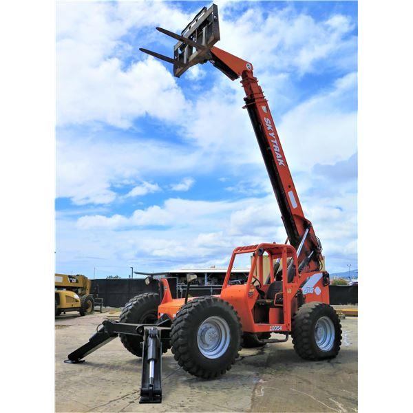 2009 SkyTrak 10054 Telehandler Forklift (Starts & Runs See Video)