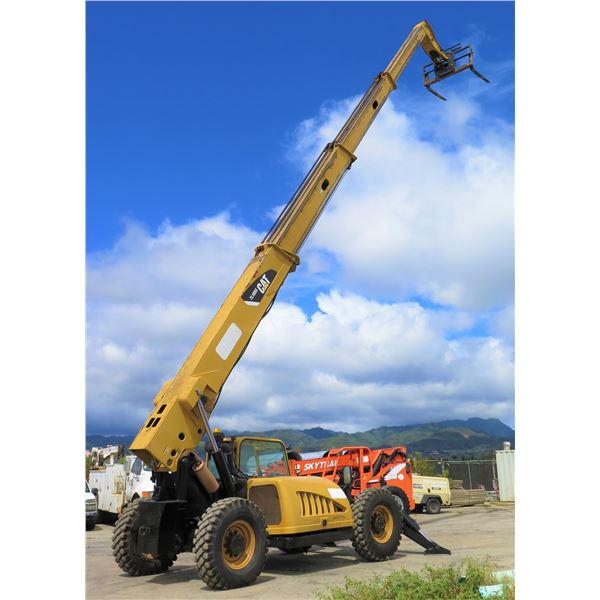 2007 Caterpillar TL1055 Telehandler Forklift (Starts & Runs See Video)