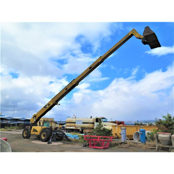 2010 Caterpillar TL1055 Telehandler Forklift-Needs Transmission Repair (Starts & Runs See Video)