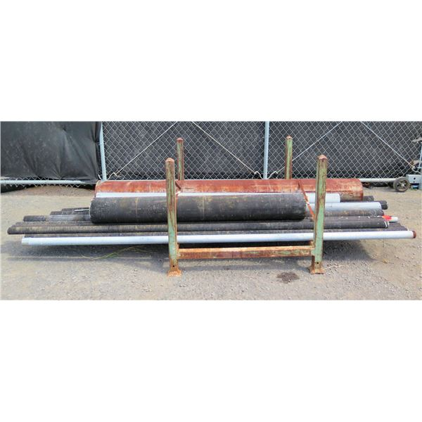 Qty Approx. 13 Pipes Misc Diameter 2 -11  & Lengths 68 -98