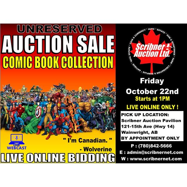 BID NOW - KEEP SCROLLING !  3 DAY AUCTION ~ OCT 22-23-24 ~ 2021 LIVE ONLINE