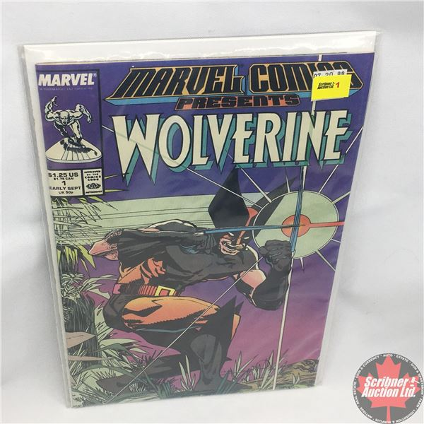 MARVEL COMICS PRESENTS: Wolverine Vol. 1, No. 1, 1988 : I'm Wolverine
