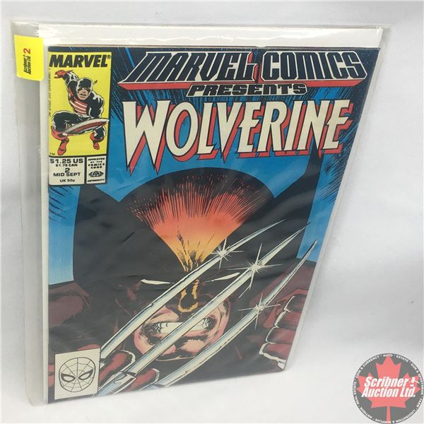 MARVEL COMICS PRESENTS: Wolverine Vol. 1, No. 2, 1988 : Save the Tiger Starring Wolverine : The Bad