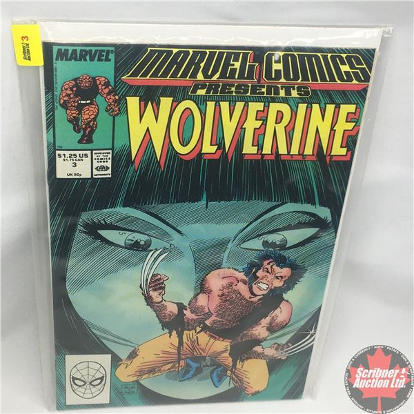 MARVEL COMICS PRESENTS: Wolverine Vol. 1, No. 3, Late September 1988 : Save the Tiger Starring Wolve
