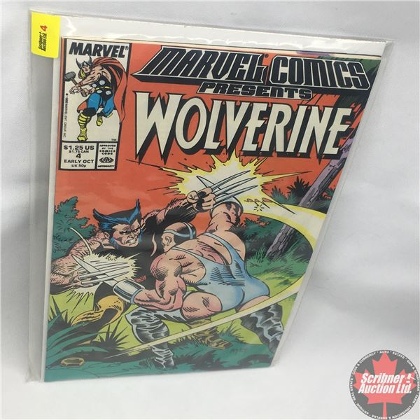 MARVEL COMICS PRESENTS: Wolverine Vol. 1, No. 4, Early October 1988 :Save the Tiger Starring Wolveri