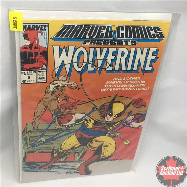 MARVEL COMICS PRESENTS: Wolverine Vol. 1, No. 5, Late October 1988: Save the Tiger Starring Wolverin