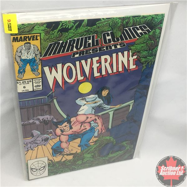 MARVEL COMICS PRESENTS: Wolverine Vol. 1, No. 6, Early November 1988: Save the Tiger Starring Wolver