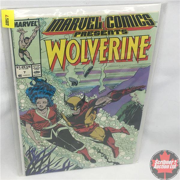 MARVEL COMICS PRESENTS: Wolverine Vol. 1, No. 7, Late November 1988: Save the Tiger Starring Wolveri