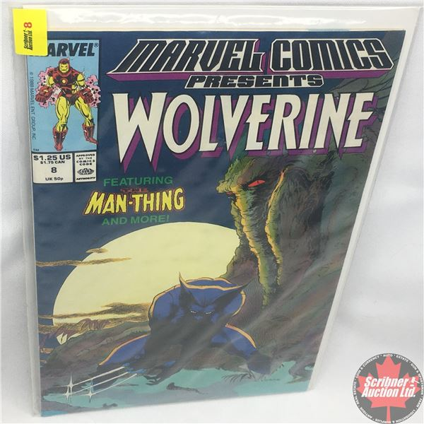 MARVEL COMICS PRESENTS: Wolverine Vol. 1, No. 8, Early December 1988: Save the Tiger Starring Wolver