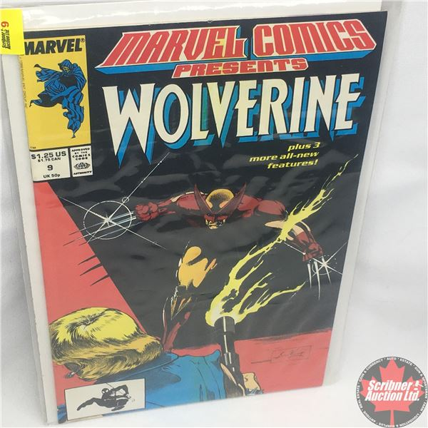 MARVEL COMICS PRESENTS: Wolverine Vol. 1, No. 9, Late December 1988 : Save the Tiger Starring Wolver
